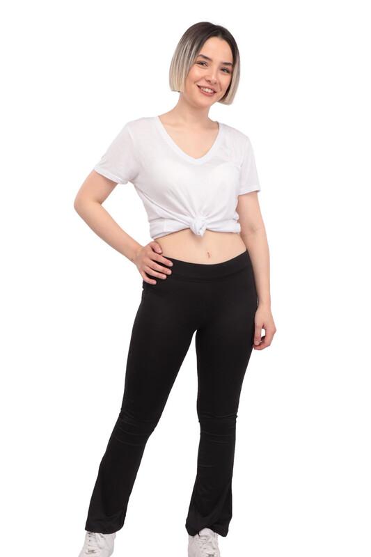 New Model - Kadın Tayt 215 | Siyah