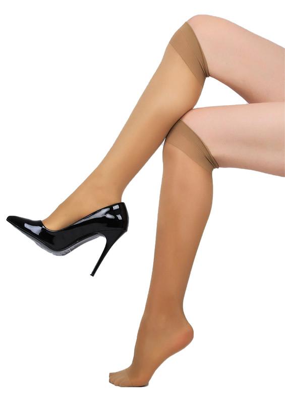 DAYMOD - Daymod Yarı Şeffaf Dizaltı Çorap Venüs 40 | Bronz