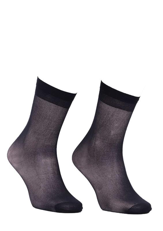DAYMOD - Daymod İnce Dizaltı Çorap Süper 15 | Siyah