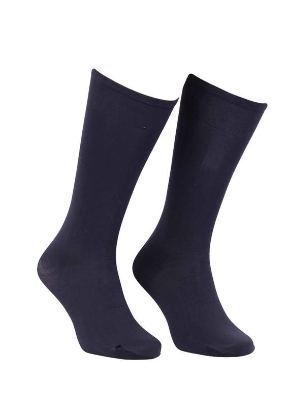 DORE - Dore Saten Dizaltı Çorap Mikro 70 | Siyah