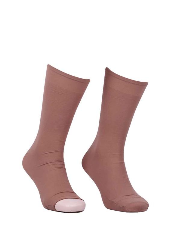 DORE - Dore Düz Dizaltı Abdest Çorabı 603 | Bronz