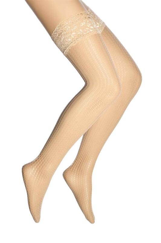 DORE - Dore Sık File Dizüstü Çorap 293 | Ten