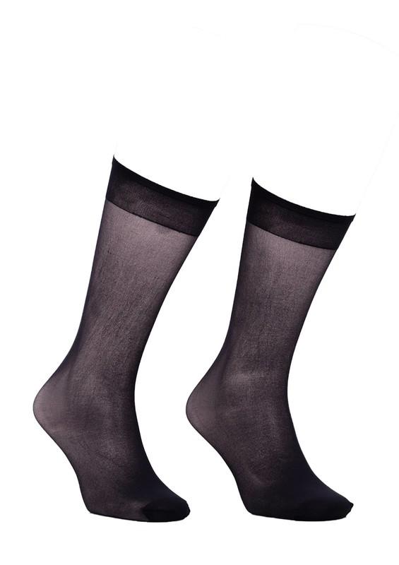 ITALIANA - İtaliana Dizaltı İnce Çorap 1002 | Siyah