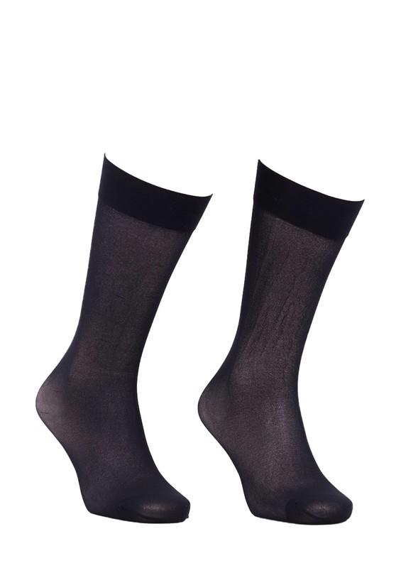 ITALIANA - İtaliana Opak Konfor Bantlı Dizaltı Çorap 1013 | Siyah