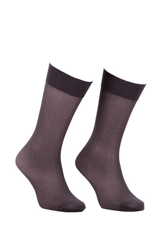 ITALIANA - İtaliana Opak Konfor Bantlı Dizaltı Çorap 1013 | Füme