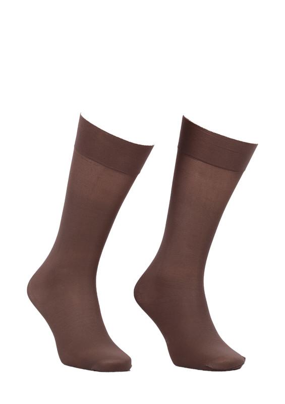 ITALIANA - İtaliana Düz Dizaltı Çorap 1014 | Vizon