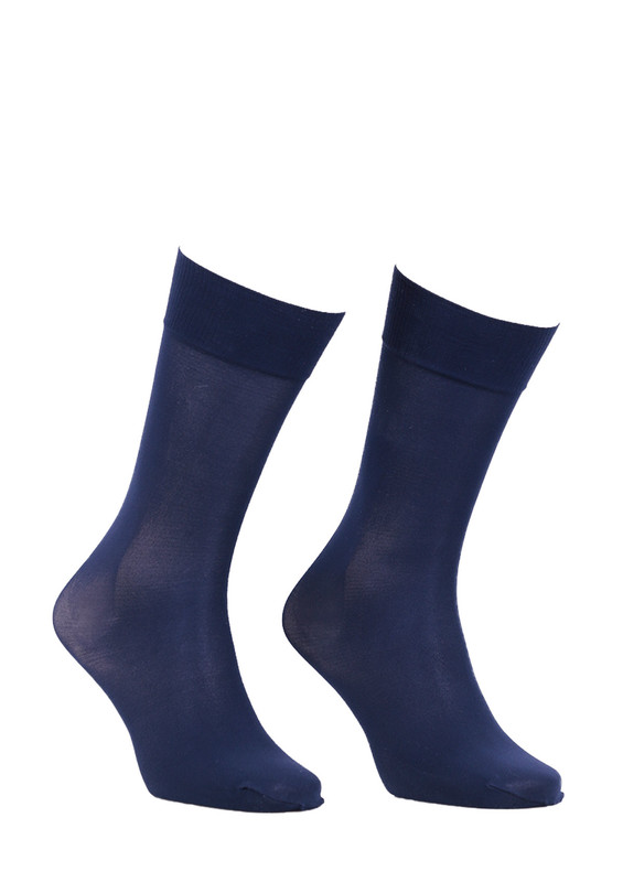 ITALIANA - İtaliana Düz Dizaltı Çorap 1014 | Lacivert