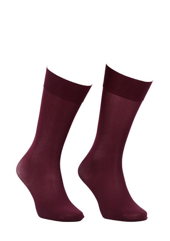 ITALIANA - İtaliana Düz Dizaltı Çorap 1014 | Bordo