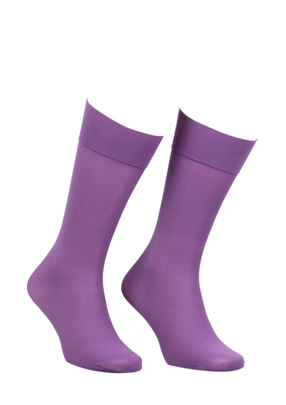 ITALIANA - İtaliana Düz Dizaltı Çorap 1014 | Lila