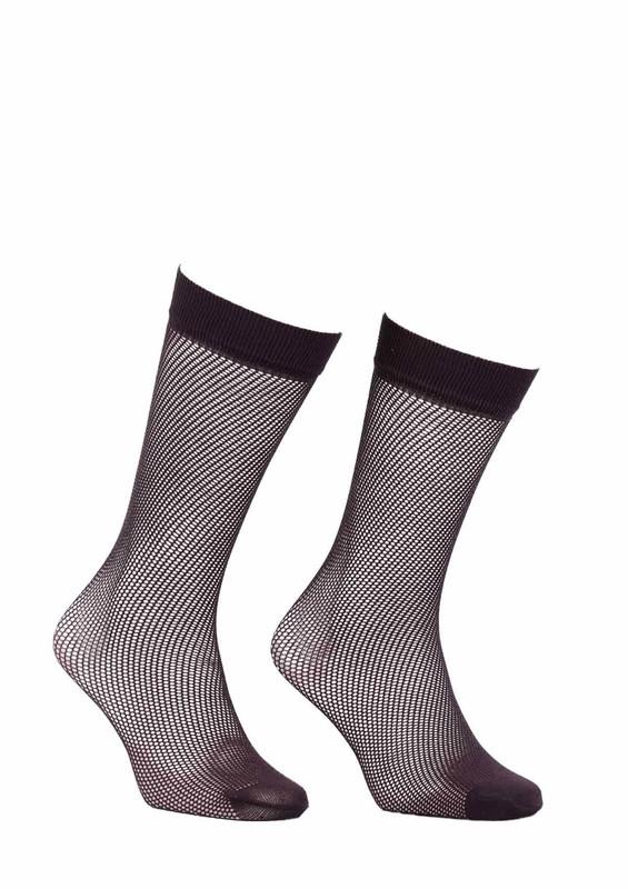 ITALIANA - İtaliana File Dizaltı Çorap Renk Seçenekli 1026 | Kahverengi