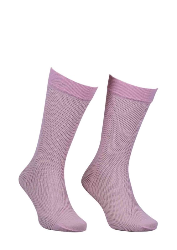 ITALIANA - İtaliana File Dizaltı Çorap Renk Seçenekli 1026 | Pembe