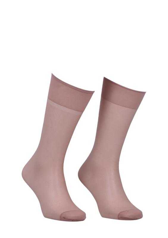 ITALIANA - İtaliana Konfor Bantlı Parlak Dizaltı Çorap 9423 | Kaşmir
