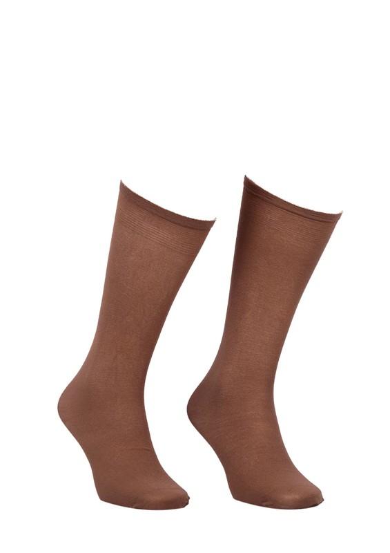 MÜJDE - Müjde Kalın Dizaltı Çorap 70 den 003 | Bronz
