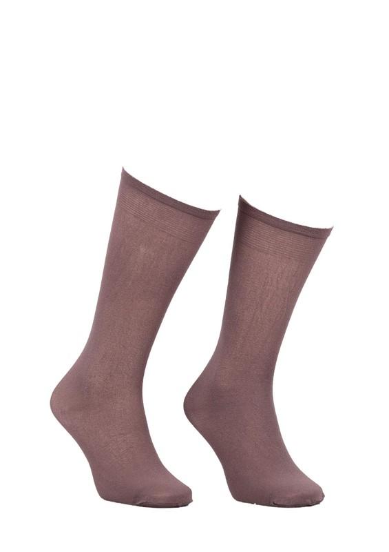 MÜJDE - Müjde Kalın Dizaltı Çorap 70 den 003 | Vizon