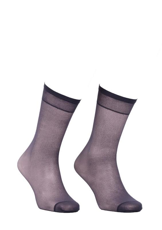 MÜJDE - Müjde İnce Dizaltı Çorap 20 den 004 | Füme