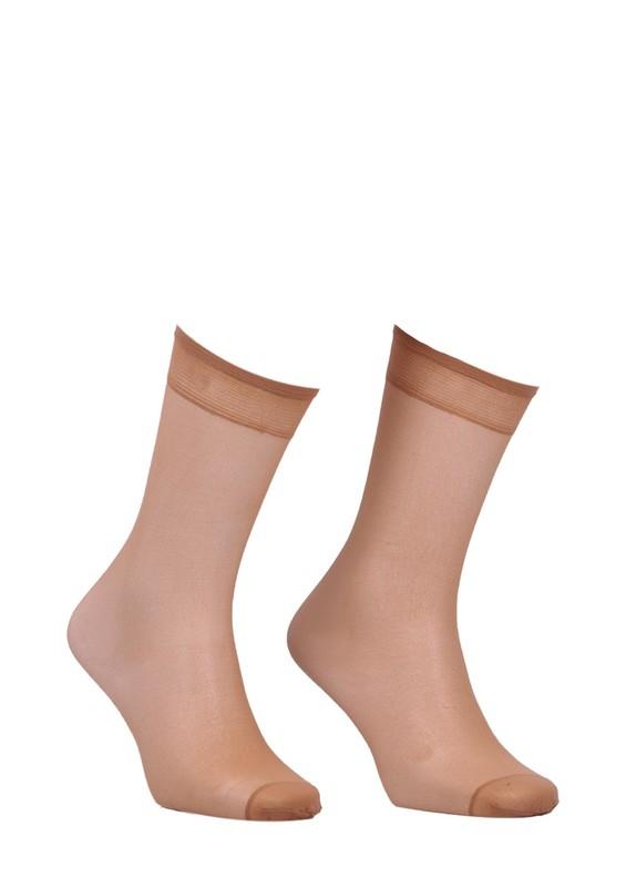 MÜJDE - Müjde İnce Dizaltı Çorap 20 den 004 | Ten