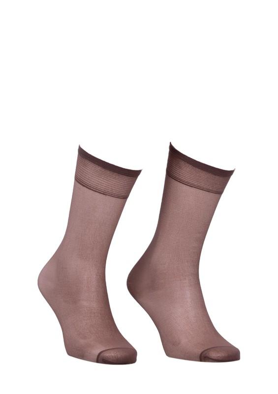 MÜJDE - Müjde İnce Dizaltı Çorap 20 den 004 | Vizon