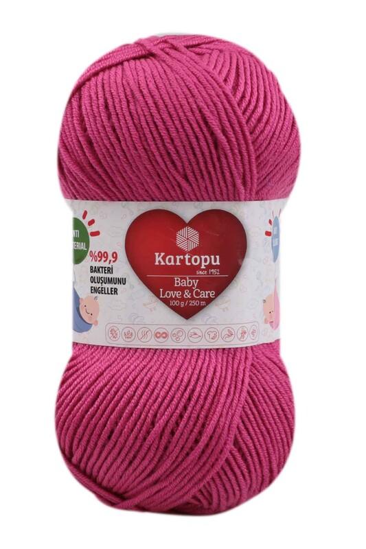 KARTOPU - Kartopu Baby Love & Care El Örgü İpi 100 gr. | Fuşya K245