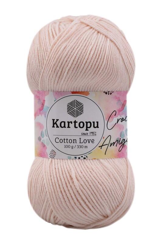 KARTOPU - Kartopu Cotton Love El Örgü İpi 100 gr | Ekru K793