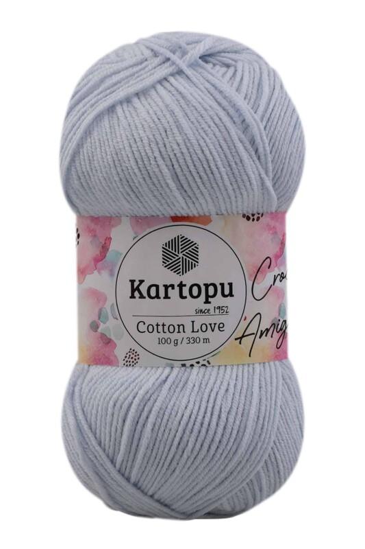 KARTOPU - Kartopu Cotton Love El Örgü İpi 100 gr | Bebe Mavi K580