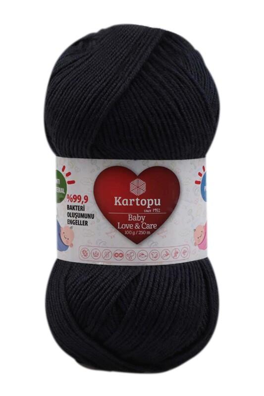 KARTOPU - Kartopu Baby Love & Care El Örgü İpi 100 gr. | Koyu Lacivert K633