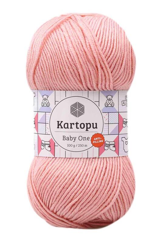 KARTOPU - Kartopu Baby One El Örgü İpi 100 gr | Pudra Pembe K258