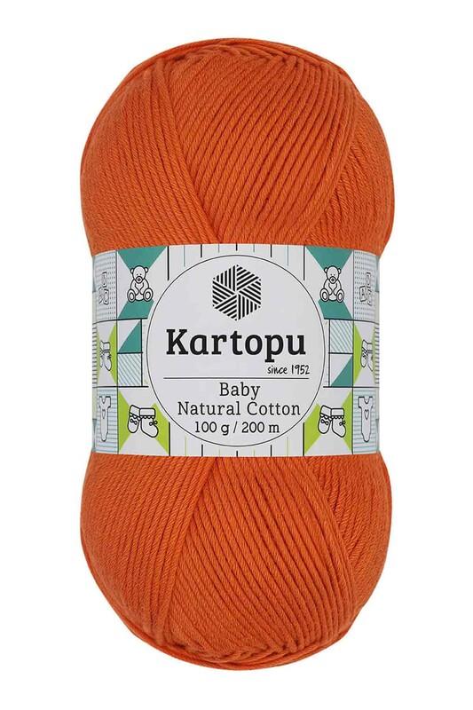 KARTOPU - Kartopu Baby Natural Cotton El Örgü İpi 100 gr. Turuncu K202