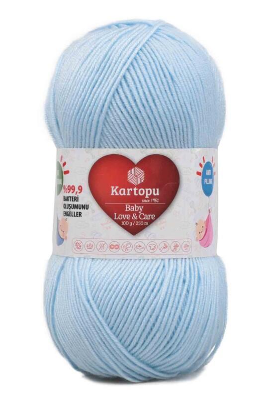KARTOPU - Kartopu Baby Love & Care El Örgü İpi 100 gr. | Mavi K567