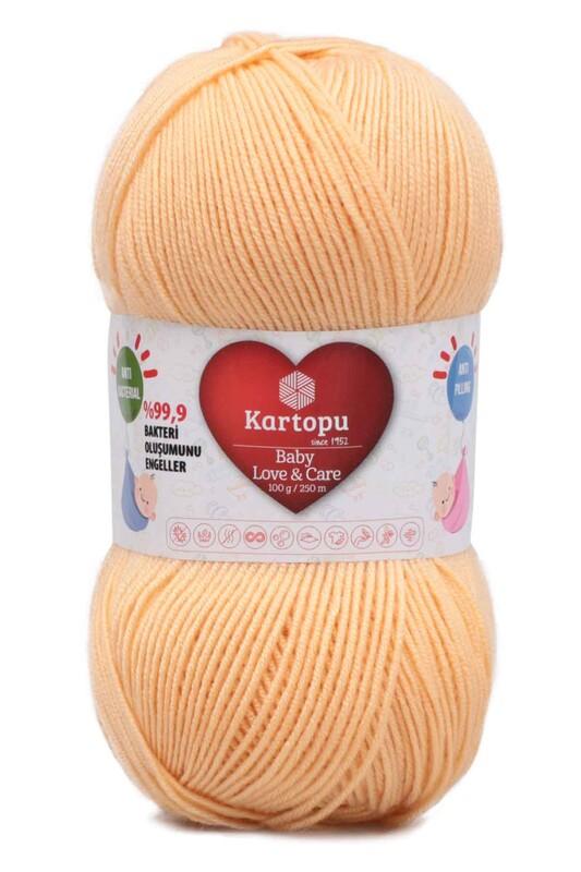 KARTOPU - Kartopu Baby Love & Care El Örgü İpi 100 gr. | Hardal Esintisi K275