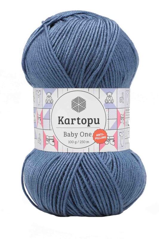 KARTOPU - Kartopu Baby One El Örgü İpi 100 gr | Lacivert K1533