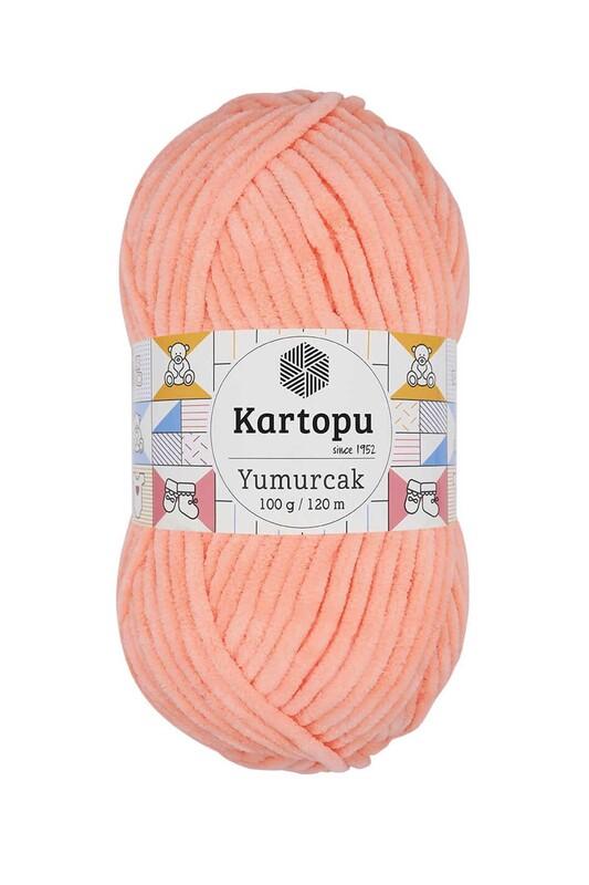 KARTOPU - Kartopu Yumurcak El Örgü İpi 100 Gr Yavruağzı K218