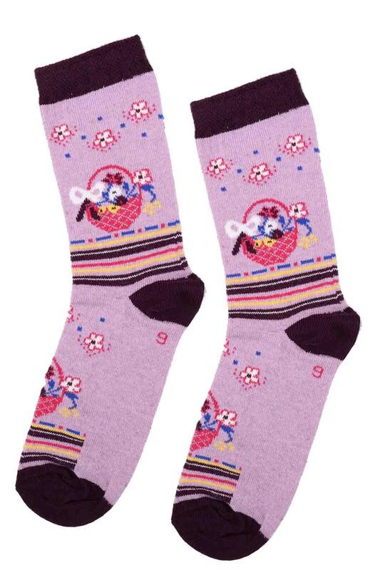 ARC - Arc Kids Kız Çocuk Çorap | Lila