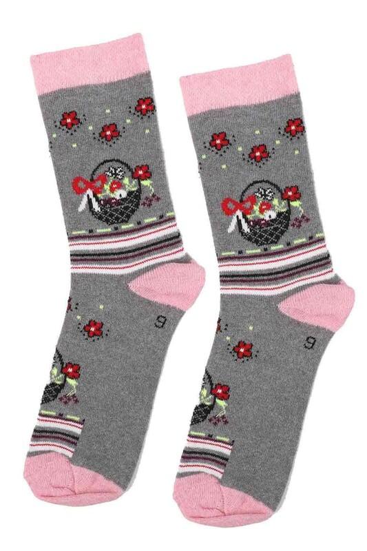 ARC - Arc Kids Kız Çocuk Çorap   Gri