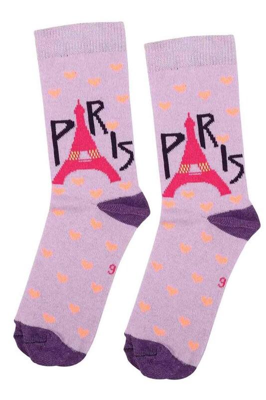 ARC - Arc Kids Kız Çocuk Çorap 003   Lila