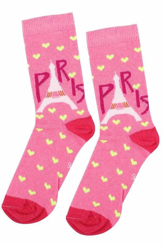 ARC - Arc Kids Kız Çocuk Çorap 003   Pembe