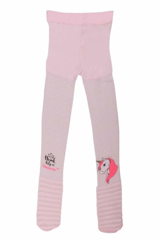 PENTİ - Penti Pretty Unicorn Kız Çocuk Külotlu Çorap | Pembe