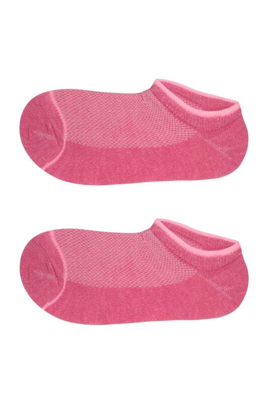 SİMİSSO - Kız Çocuk Soket Çorap 307 | Fuşya
