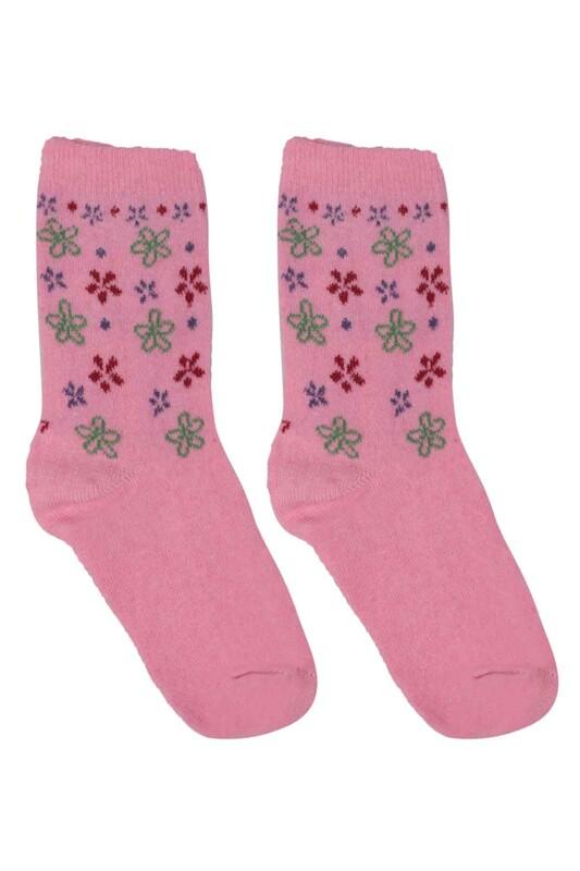 ÜÇ-EL - Kız Çocuk Çorap 52 | Pembe