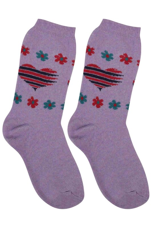 ÜÇ-EL - Kız Çocuk Çorap 53 | Lila