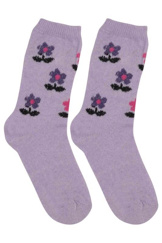 ÜÇ-EL - Kız Çocuk Çorap 55 | Lila