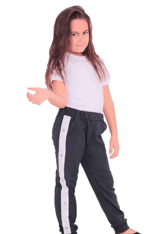 SİMİSSO - Simisso Çocuk Eşofman Altı 309   Siyah