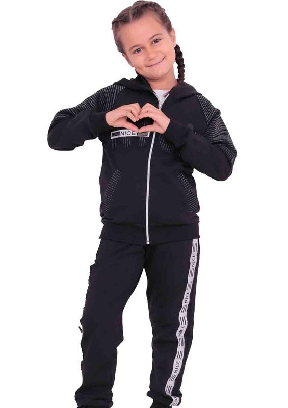 YUKO - Yuko Çocuk Eşofman Takımı 2012   Siyah
