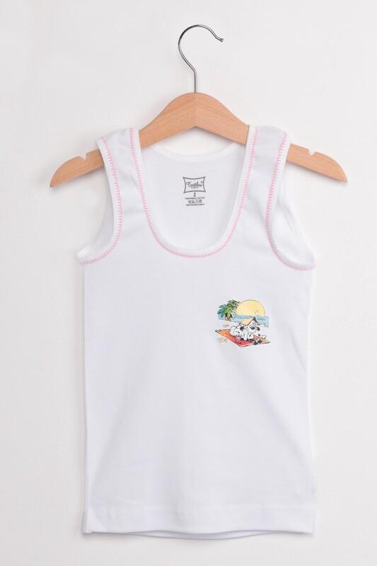 TUTKU - Tutku Sütaşlı Kız Çocuk Atlet Külot Takım | Pembe