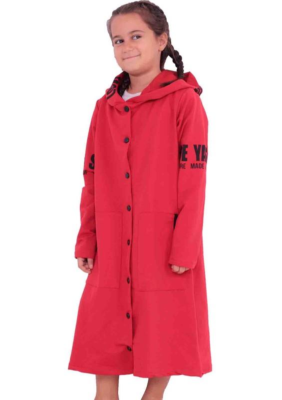 SİMİSSO - Simisso Çocuk Hırka 6745 | Kırmızı