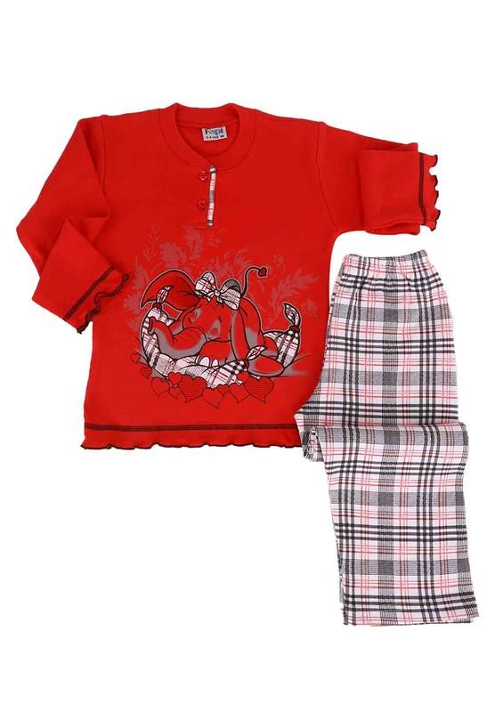 SİMİSSO - Simisso Pijama Takımı 021 | Kırmızı