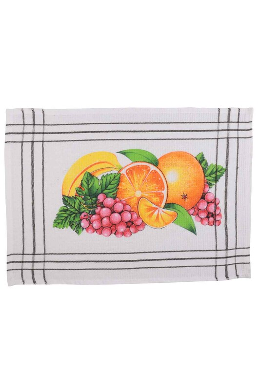 SEVİNÇ - Çocuk Beslenme Örtüsü Meyve Desenli