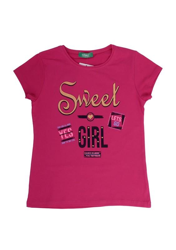 SİMİSSO - Simisso T-Shirt 79159 | Pembe