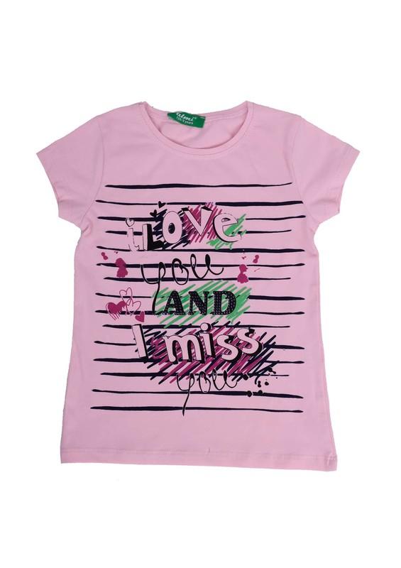 SİMİSSO - Simisso T-Shirt 69109 | Pudra