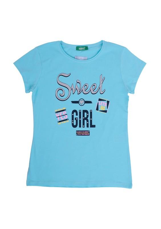 SİMİSSO - Simisso T-Shirt 79159 | Turkuaz