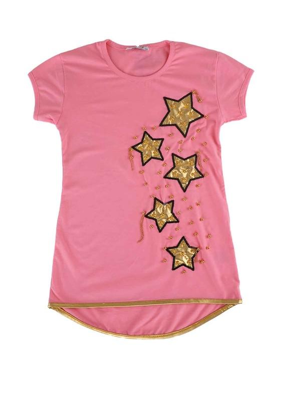 SİMİSSO - Simisso T-Shirt 4009 | Bebe Pembe